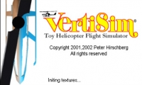 Vertisim Toy Helicopter Flight Simulator