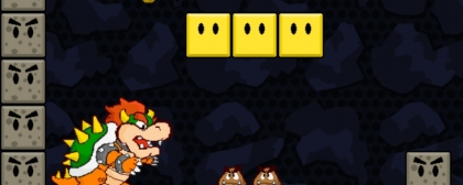 Paper Bowser World