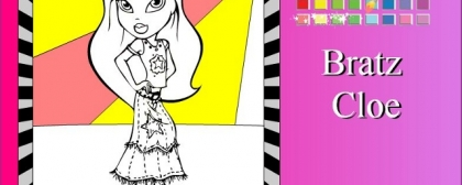 Bratz Cloe Coloring 3