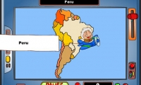 Geography Game – South America