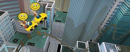 3D Rollercoaster Rush New York