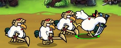 Chicken Revolution: Warriors