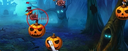 Duck vs Pumpkin