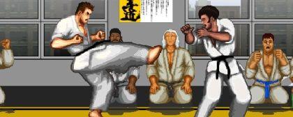 Karate Master Knock Down Blow