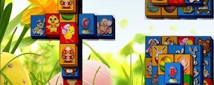 Mahjong Easter Time