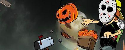Newspaper Boy: Halloween Night