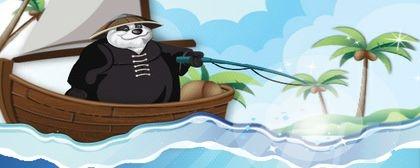 Panda Fishing