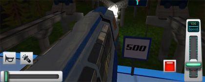 Racing in Train Games