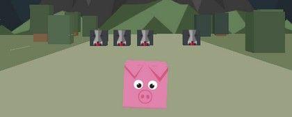 Run Cube Animals