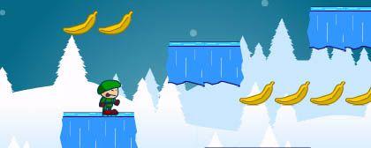 Ski and Banana