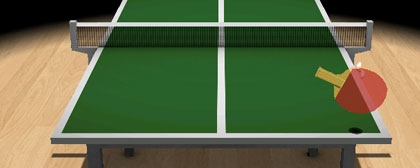 Virtual Table Tennis 3D