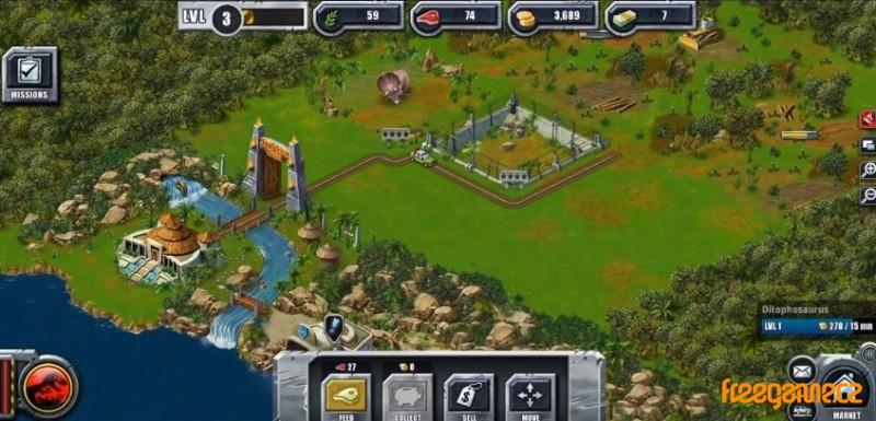 Jurassic Park Builder - Freegame cz