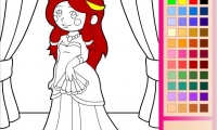 Princess Emma Coloring