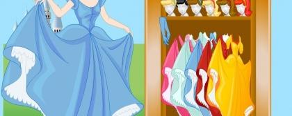 Cinder Princess Dressup Game