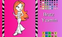 Bratz Yasmin Coloring