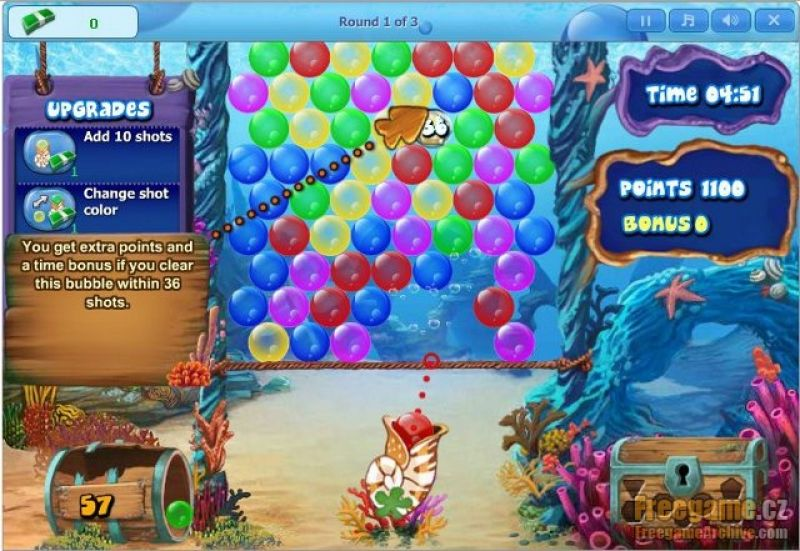 duell games bubble pop