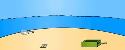 Útek zo seba samého: Ostrov