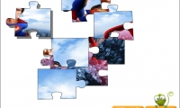 Superman puzzle jigsaw