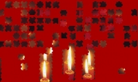 Christmas Candles Jig Saw Puzzle
