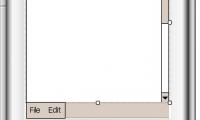 PDA Text Editor