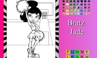 Bratz Jade Coloring