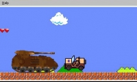 Super Mario Bros Tank Wars
