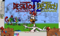Desktop Destroy 2: Chicken Carnage