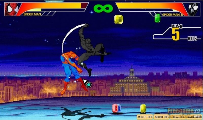 the valorous spiderman game