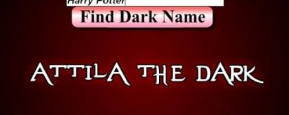 Dark name generator