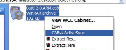 CABviaActiveSync